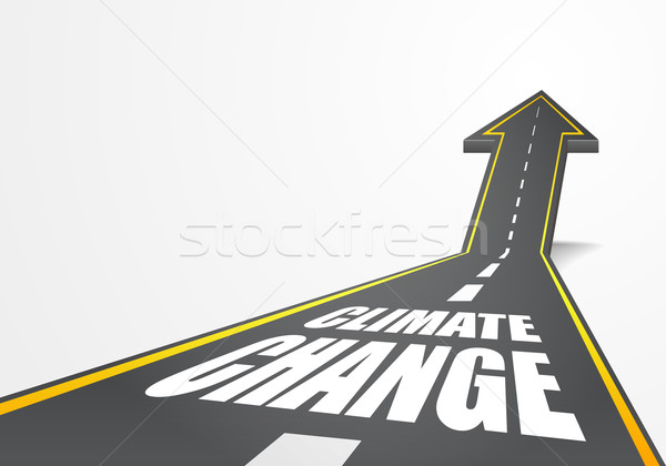 road to Climate Change Stock photo © unkreatives