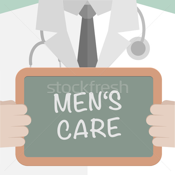 Board Mens Care Stock photo © unkreatives