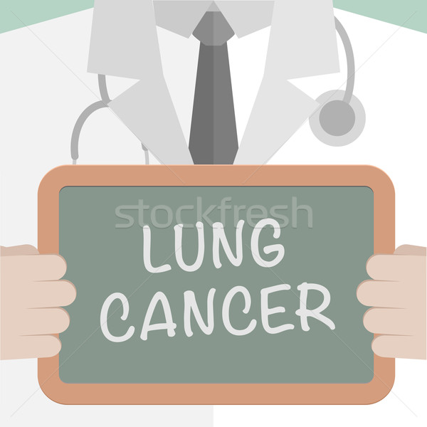 Medical Board Lung Cancer Stock photo © unkreatives