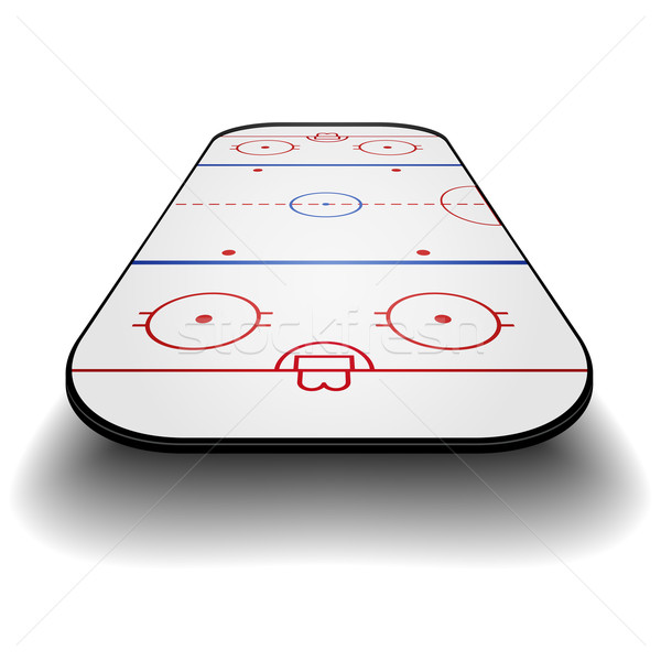 icehockey court perspective Stock photo © unkreatives