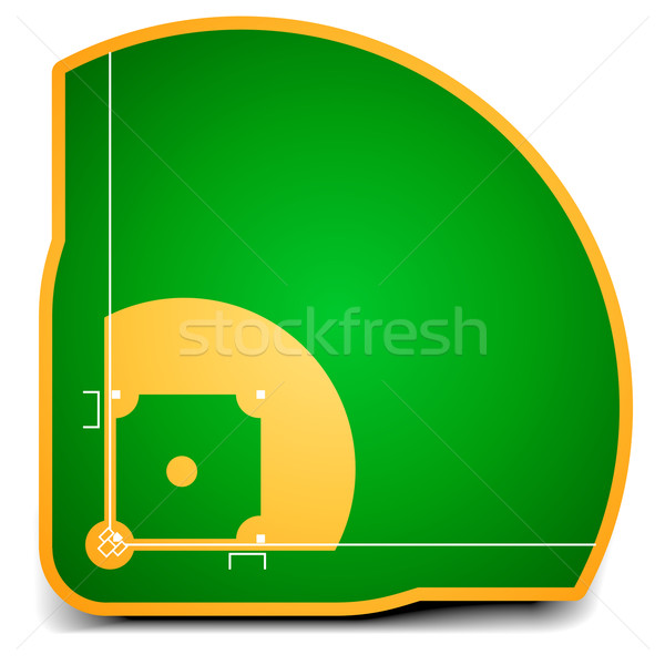 baseball field Stock photo © unkreatives