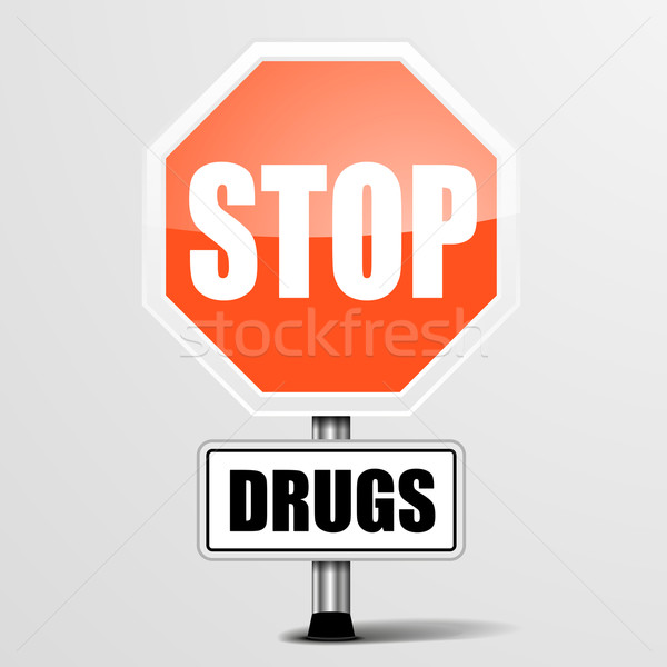 Stop Drugs Stock photo © unkreatives