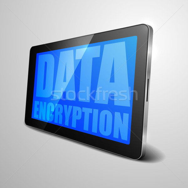 tablet data encryption Stock photo © unkreatives