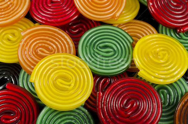 colorful candy wheels Stock photo © unkreatives