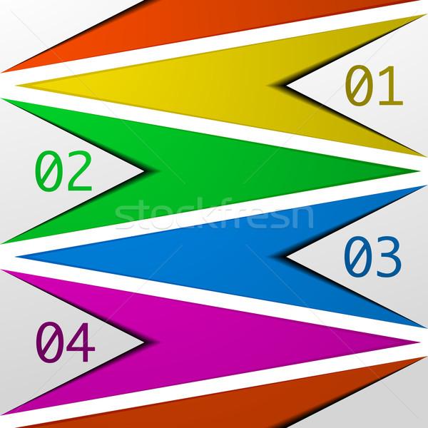 Modèle détaillée illustration layout eps10 Photo stock © unkreatives