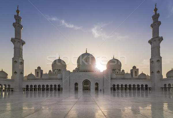Sheikh Zayed Grand Mosque Stock photo © unkreatives