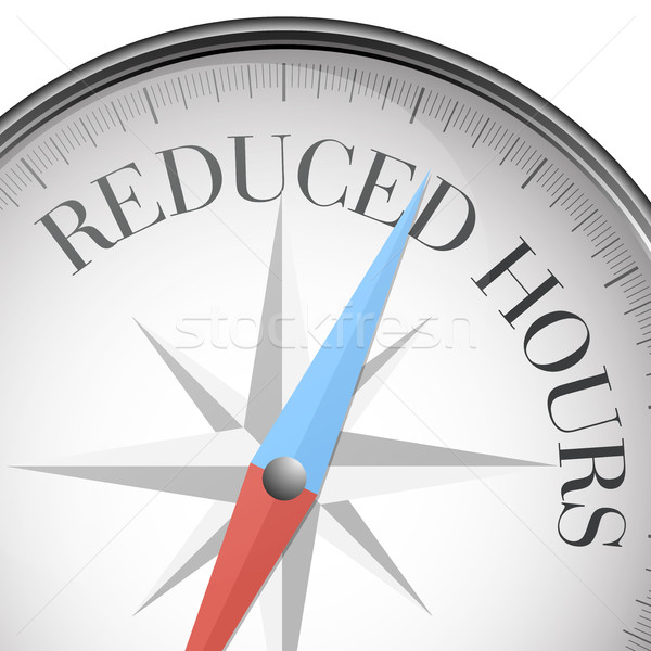 compass Reduced Hours Stock photo © unkreatives