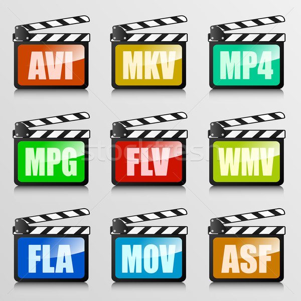 video codecs Stock photo © unkreatives