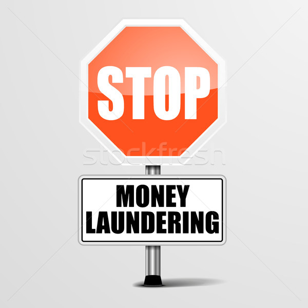 Stop Money Laundering Stock photo © unkreatives