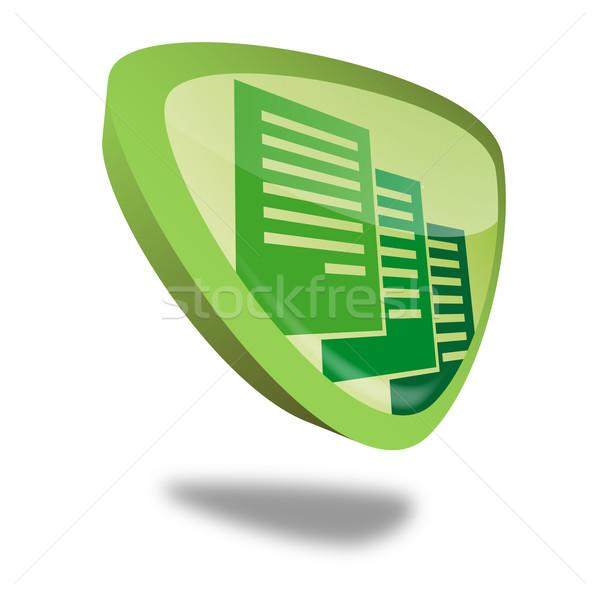 Taste Archiv grünen Perspektive Business Schule Stock foto © unkreatives