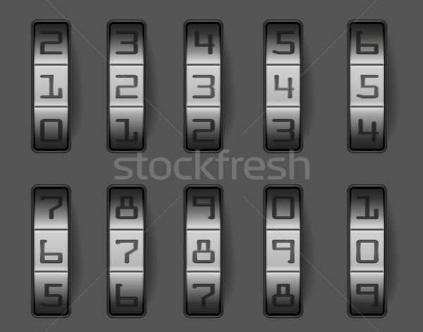 combination lock Stock photo © unkreatives