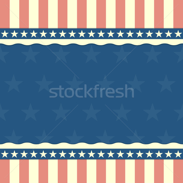 patriotic stars and stripes background Stock photo © unkreatives
