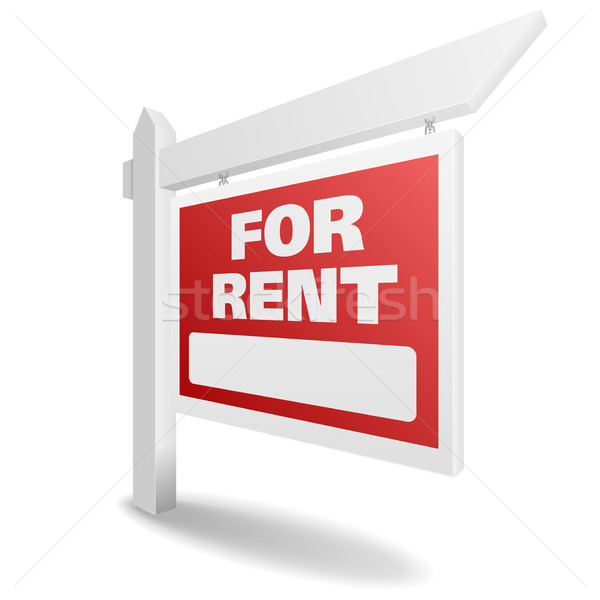 Real Estate For Rent Stock photo © unkreatives