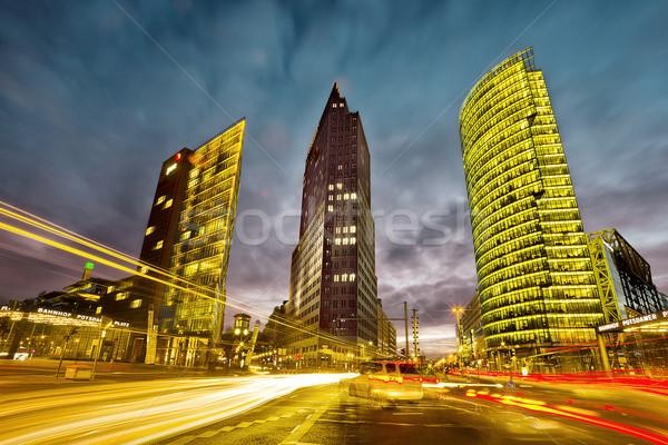 Potsdamer Platz Berlin Stock photo © unkreatives