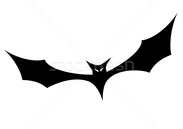 bat silhouette Stock photo © unkreatives