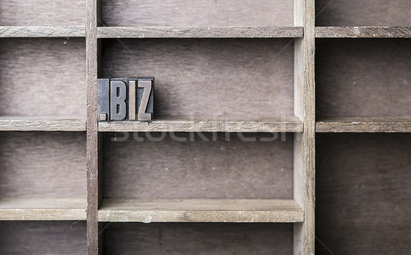 Wooden Letter .biz Stock photo © unkreatives