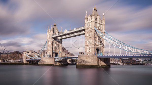 Tower Bridge London Stock photo © unkreatives