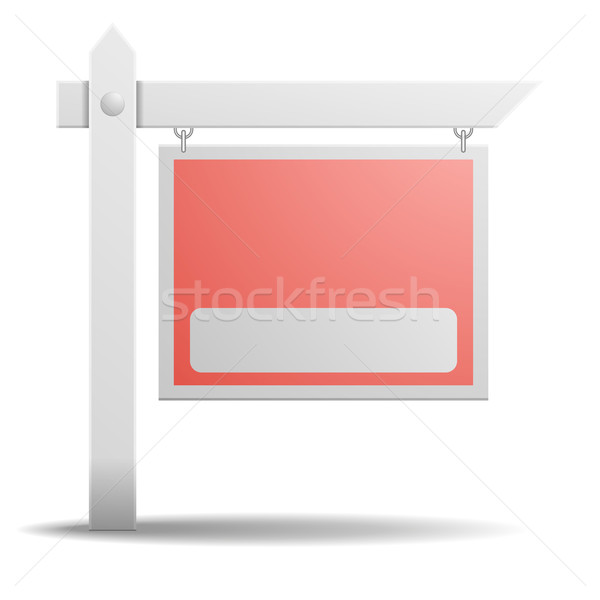 Stock photo: Real Estate Sign