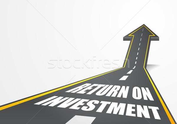 return on investment Stock photo © unkreatives