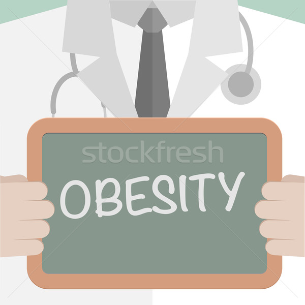 Medical Board Obesity Stock photo © unkreatives