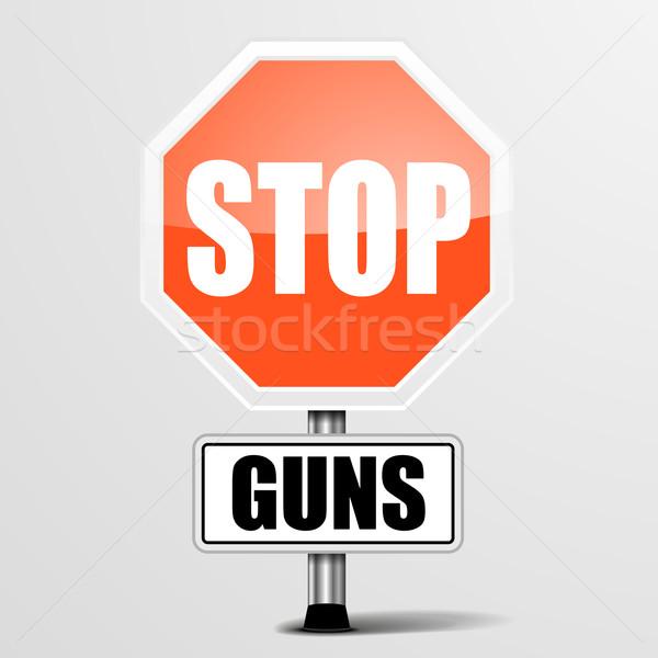 Stop Guns Stock photo © unkreatives
