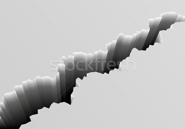 Deep Crack Background Stock photo © unkreatives