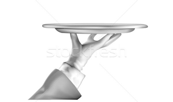 Tablett Stock photo © unkreatives
