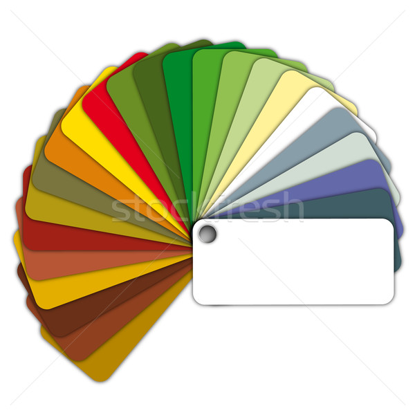 color guide Stock photo © unkreatives
