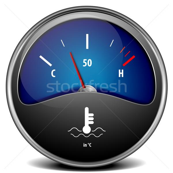 temperature gauge Stock photo © unkreatives