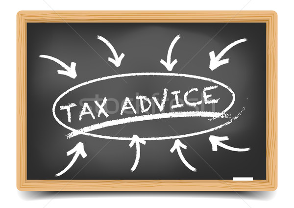 Tax Advice Focus Stock photo © unkreatives