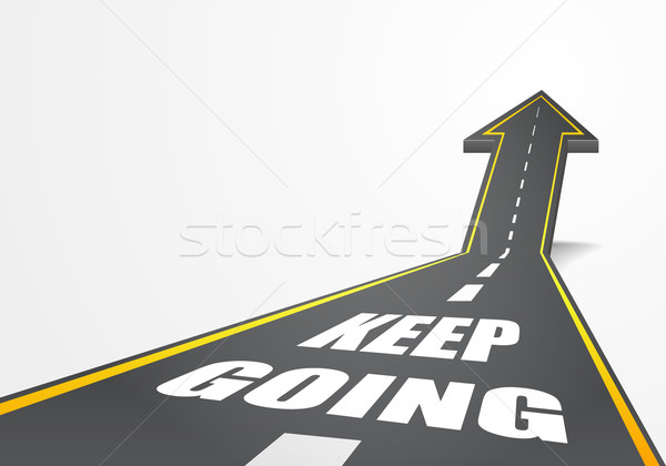 Keep Going Stock photo © unkreatives