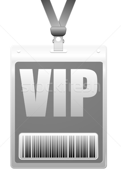 VIP Badge Stock photo © unkreatives
