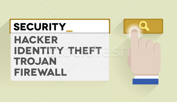 search security Stock photo © unkreatives