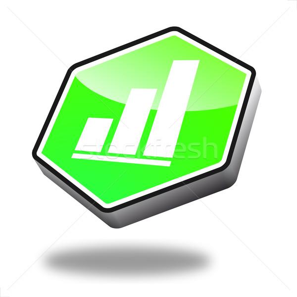 Stok fotoğraf: Düğme · finanse · yeşil · perspektif · iş · dizayn