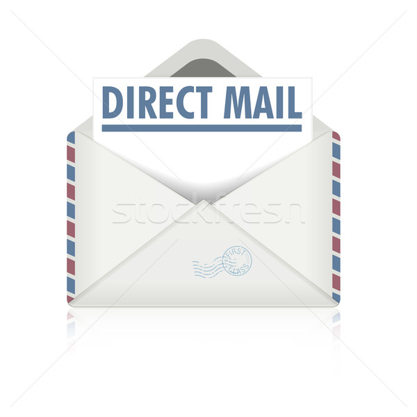 direct mail Stock photo © unkreatives