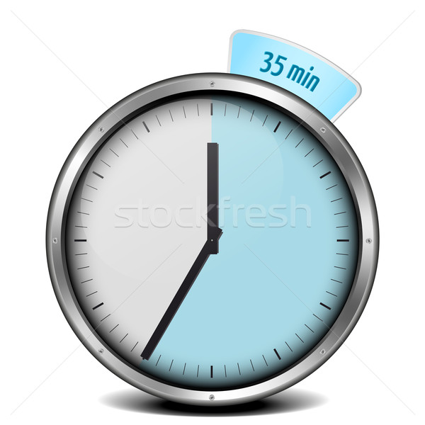 35min timer Stock photo © unkreatives