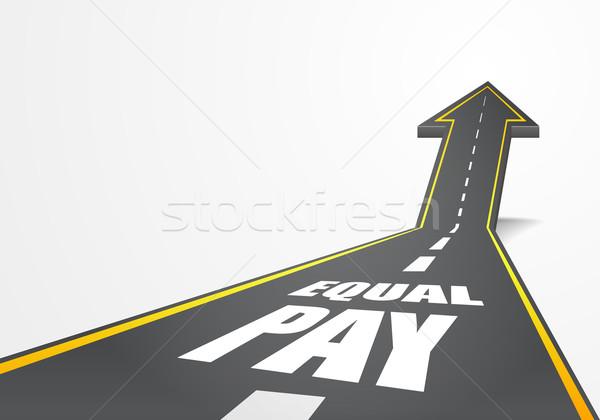 道路 等しい 詳しい 実例 道路 ストックフォト © unkreatives