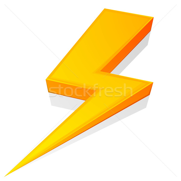 Lightning Bolt Stock photo © unkreatives