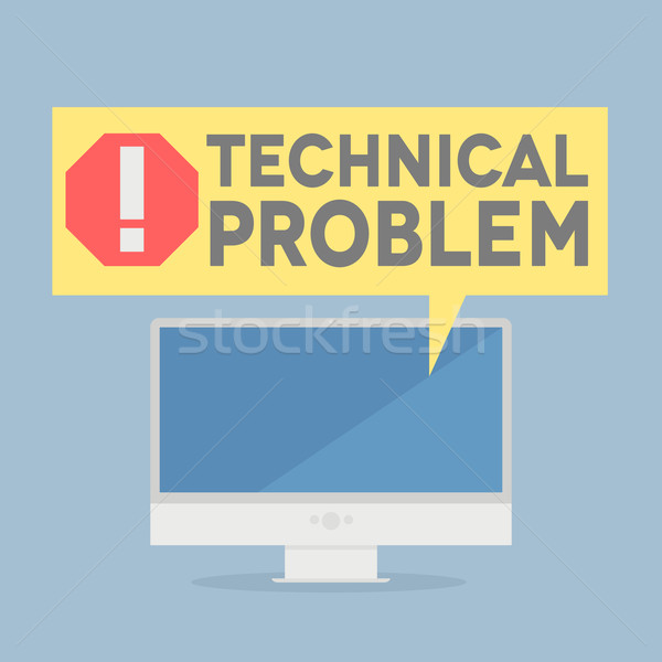 tech problem Stock photo © unkreatives