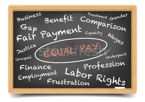 Wordcloud Equal Pay Stock photo © unkreatives