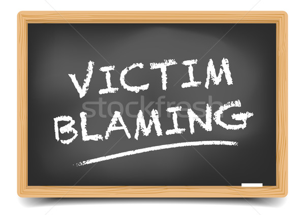 Victim Blaming Stock photo © unkreatives