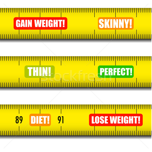 Messages détaillée illustration mesure différent Photo stock © unkreatives