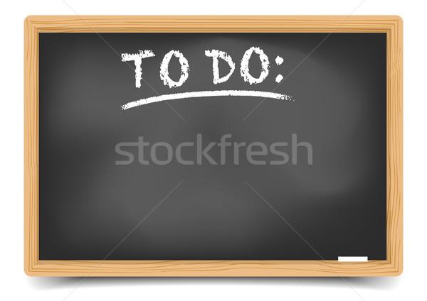 黒板 詳しい 実例 文字 eps10 ベクトル ストックフォト © unkreatives