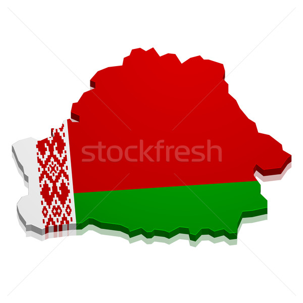 Map Belarus Stock photo © unkreatives
