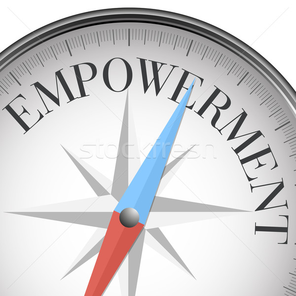 compass empowerment Stock photo © unkreatives