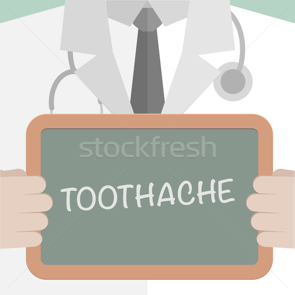 Medical Board Toothache Stock photo © unkreatives