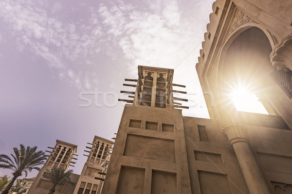 historical arabian buildings Stock photo © unkreatives