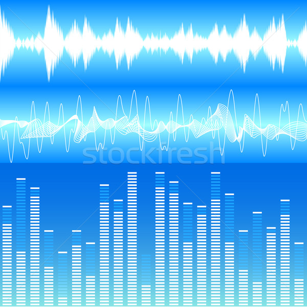 Soundwaves Stock photo © unkreatives