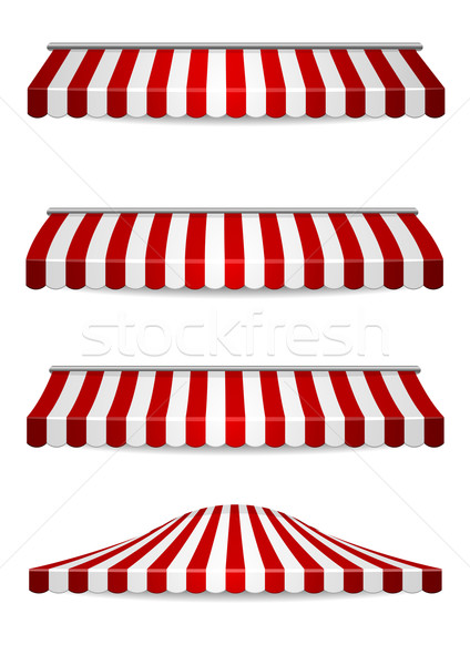 awnings Stock photo © unkreatives