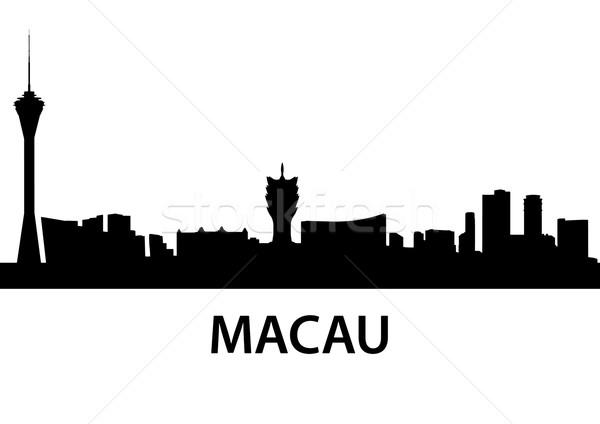 Macau Skyline Stock photo © unkreatives